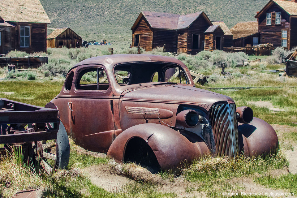 Bodie, CA — 1937 Chevrolet Master Coupe