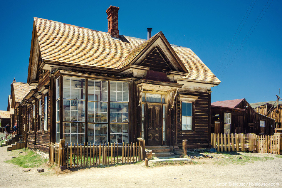 Bodie, CA — James Stewart Cain's Home