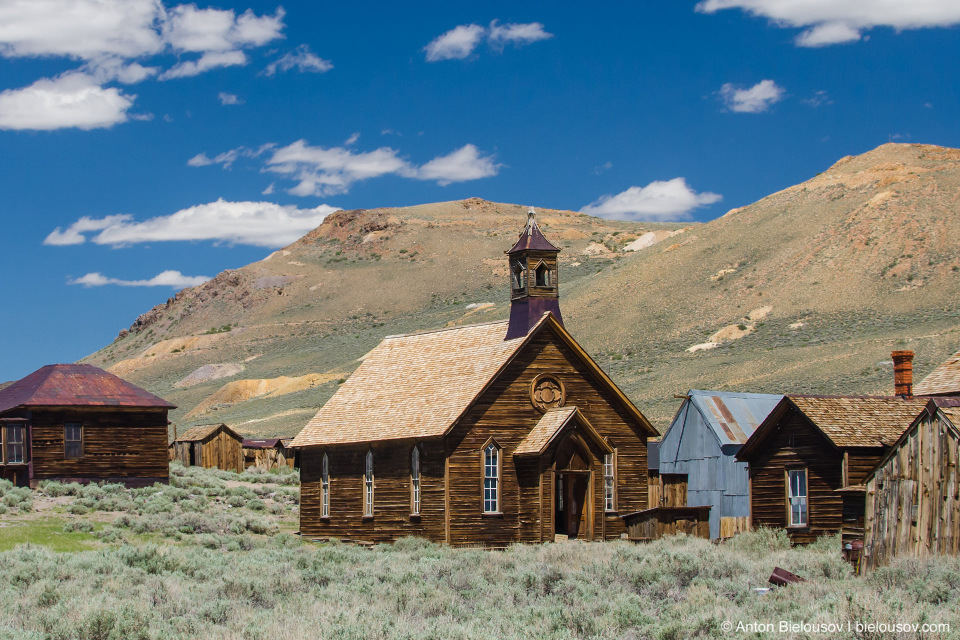 Bodie, CA Methodic Church