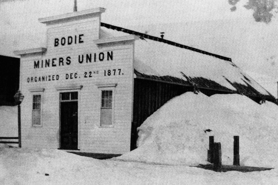 Bodie Miners Union, 1877