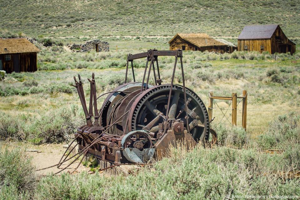 Old engine (Bodie, CA)