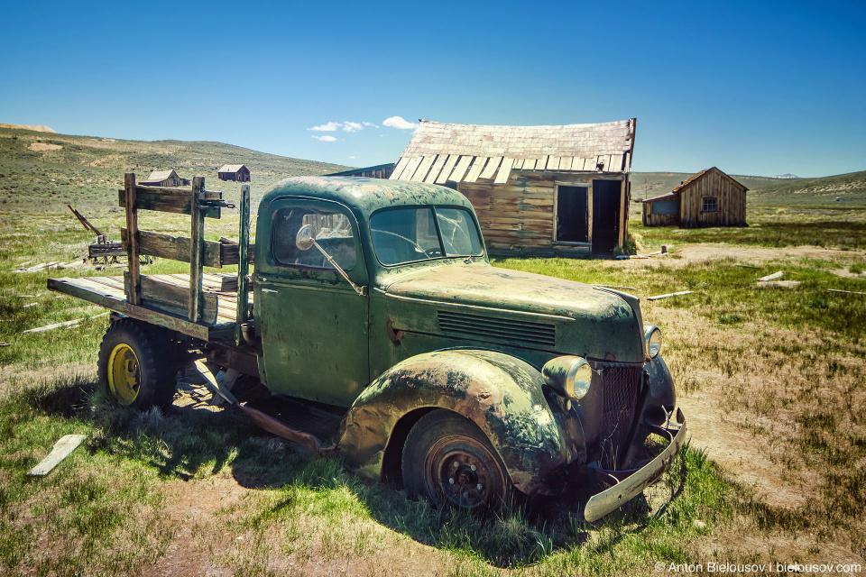 Pick-up truck, Bodie, CA