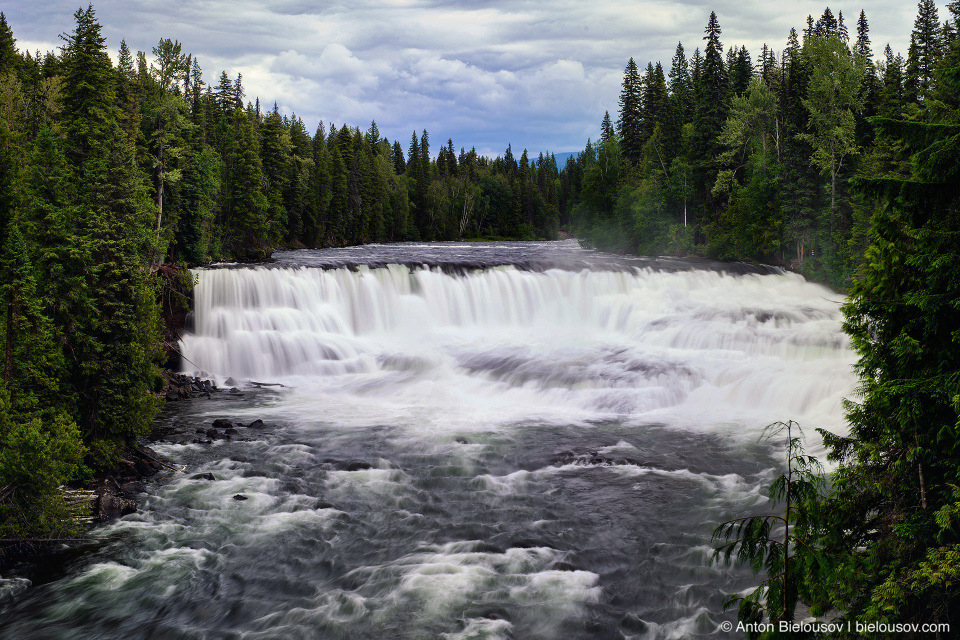 Dawson Falls (90 x 20 m), Wells Gray Provincial Park, BC
