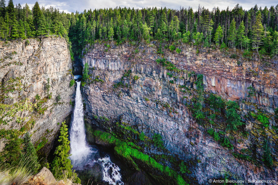 Spahats Creek Falls (Wells Gray Provincial Park, BC)