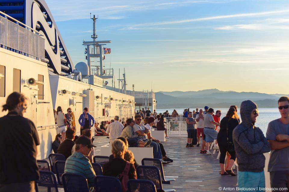 BC Ferry Deck