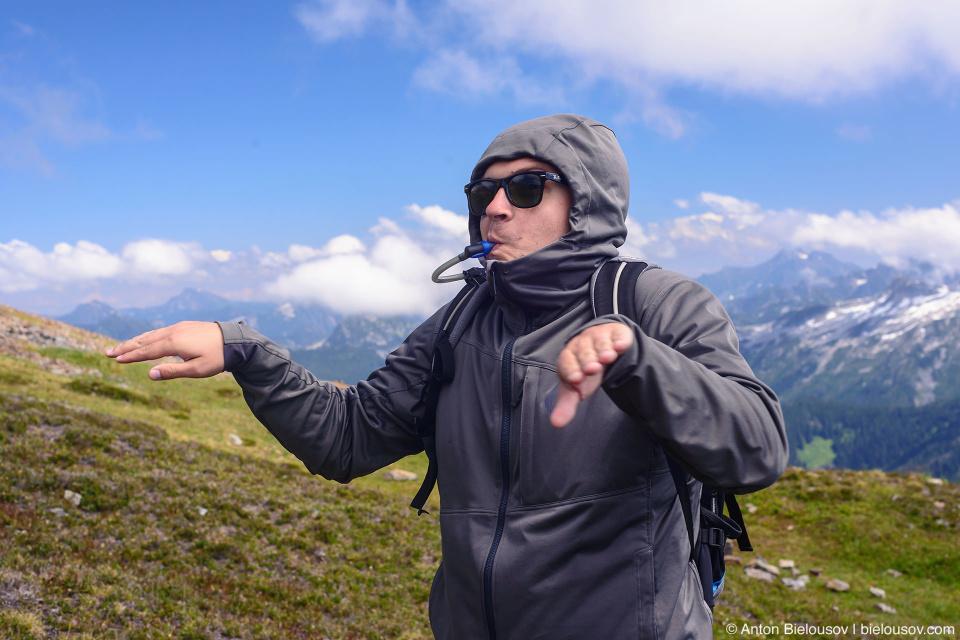 Cheam Peak trail hiking