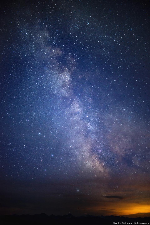 Ночь на пике: млечный путь (Nikon D800 + Nikon AF-S 35mm f/1.8 G DX)