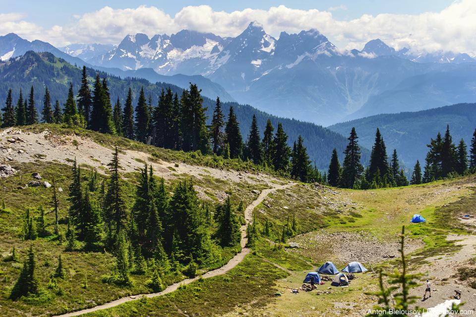 Cheam Peak campsite
