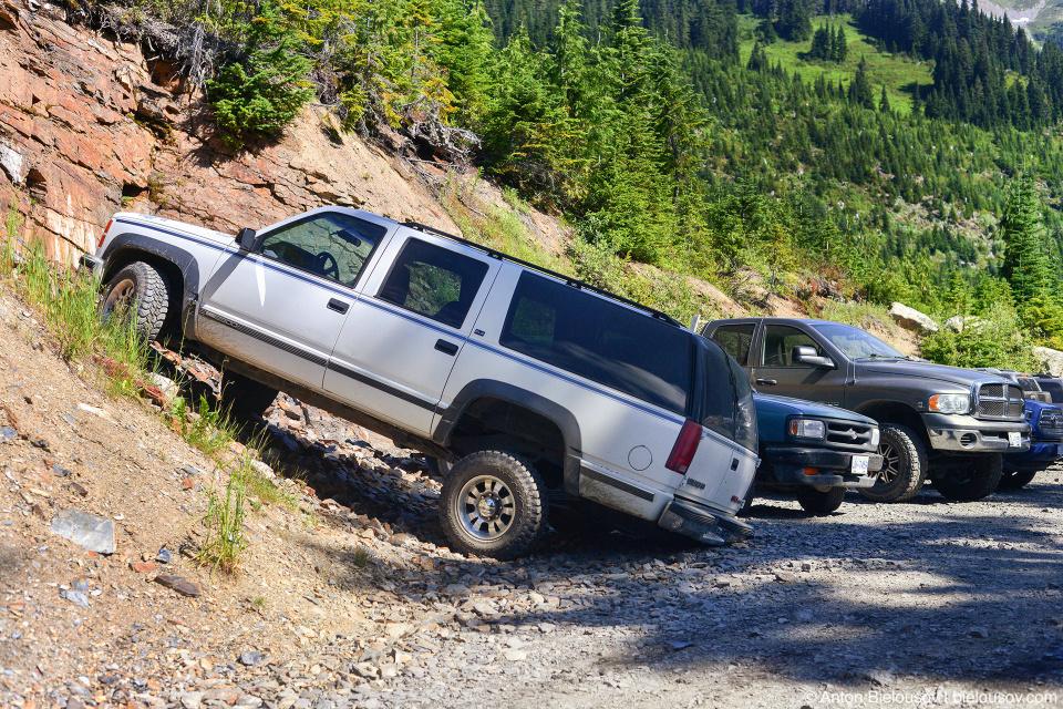 Mount Cheam trailhead parking lot