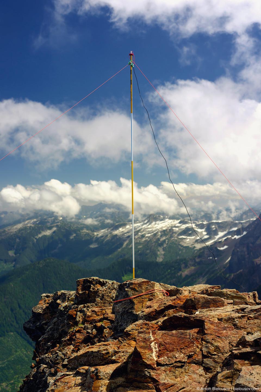 Antenna on Cheam Peak
