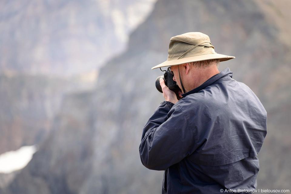 Радио и фотолюбитель на пике Cheam Peak