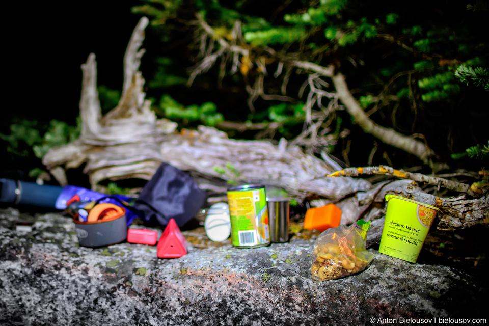 Ужин на вершине горы