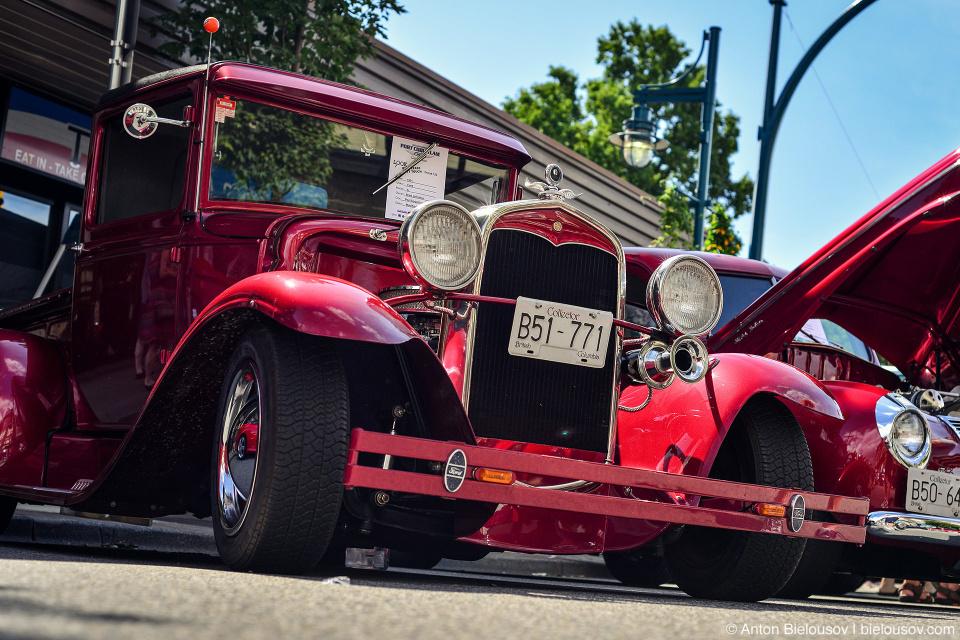 2016 Port Coquitlam Car Show — 1928 Ford Model A