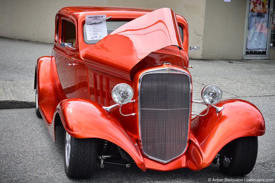 2016 Port Coquitlam Car Show — 1933 Chevrolet Coupe