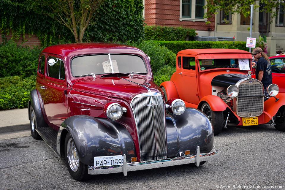 2016 Port Coquitlam Car Show — 1937 Chevrolet Coupe