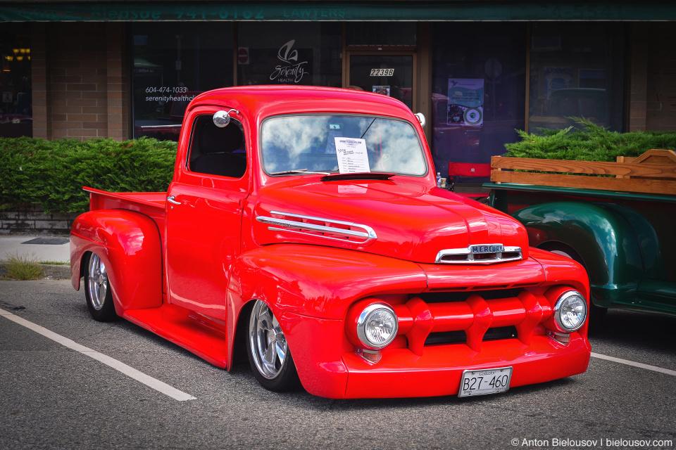 2016 Port Coquitlam Car Show — 1951 Mercury Pickup