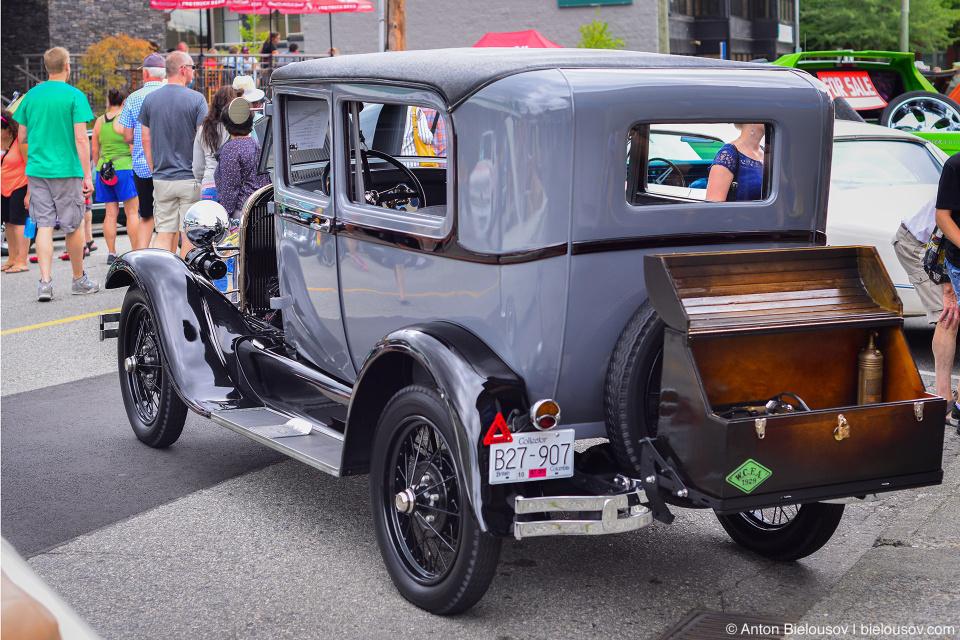 2016 Port Coquitlam Car Show — Ford Model T