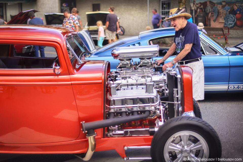 2016 Port Coquitlam Car Show — Roadsters Fan