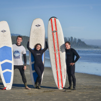 Surfing Lessons Vancouver Island