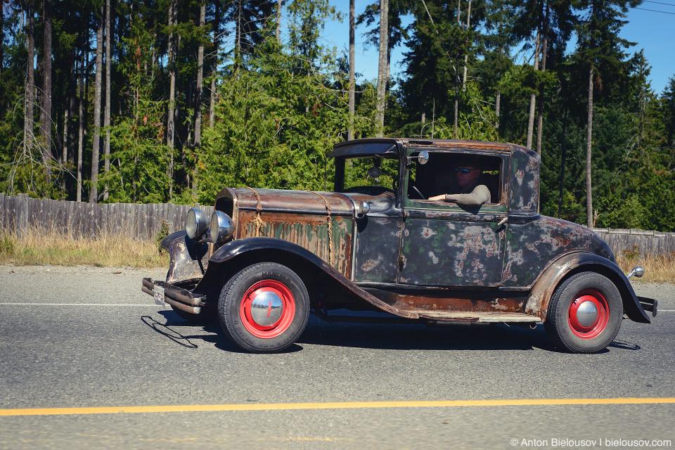 Vintage Car on Vancouver Island