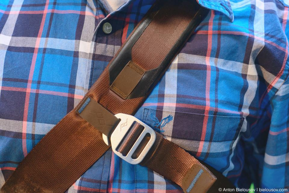 Peak Design Everyday Messenger Bag Stabilizer Strap Lock