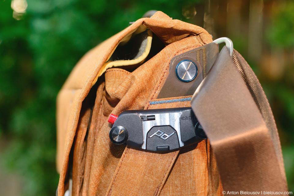 Peak Design Everyday Messenger Bag Main with Capture Pro Camera Clips