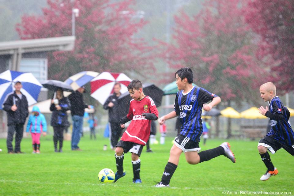 PoCo Euro-Rite FC U11 Soccer Game In the Rain
