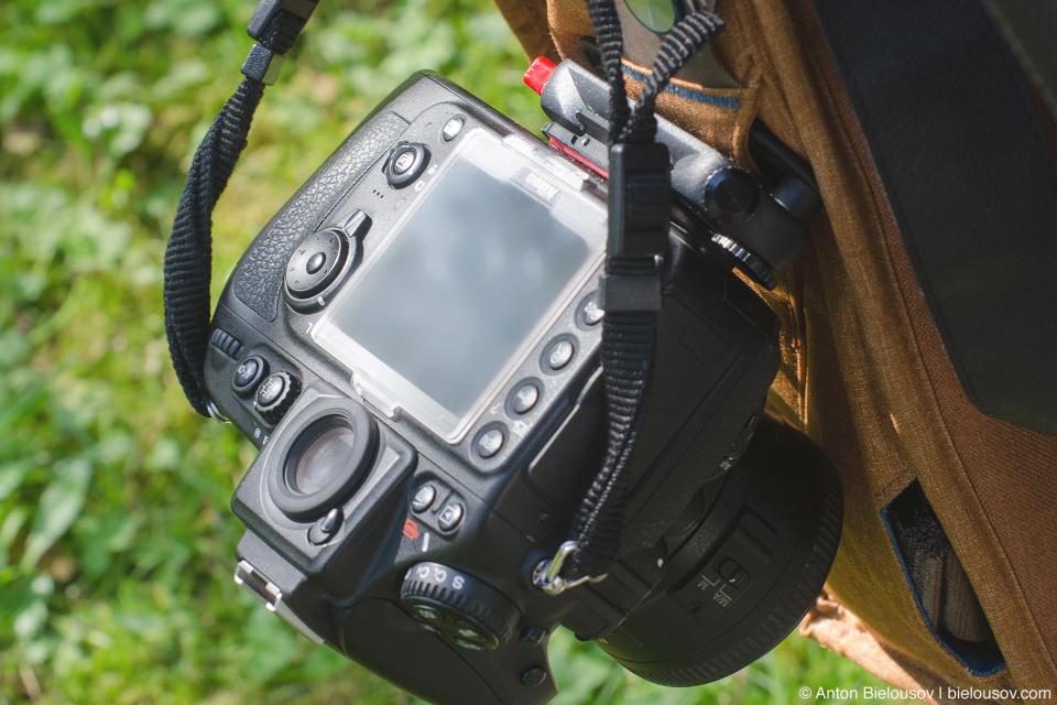 Peak Design Everyday Messenger Bag Main with Capture Pro Camera Clips + Nikon D800