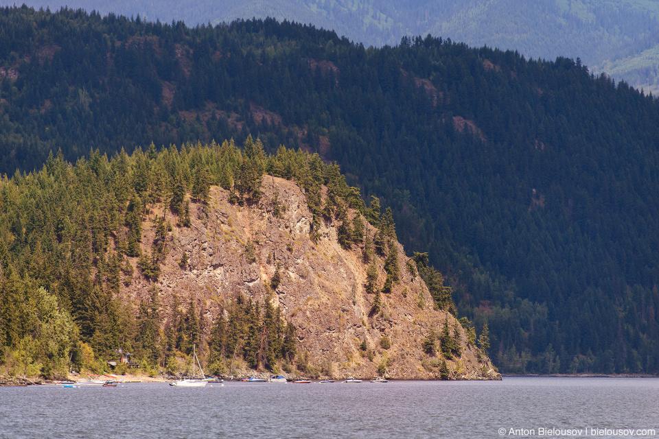 Copper Island, Shuswap Lake, BC