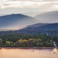 Copper Island lookout to Shuswap Lake Provincial Park