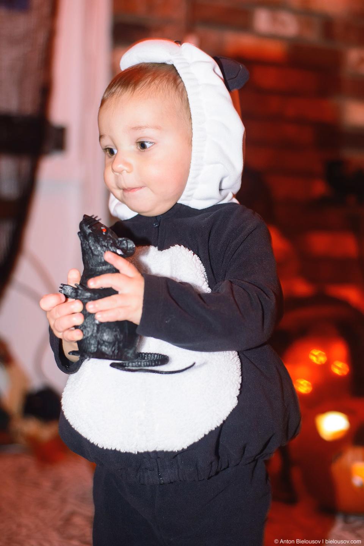 Halloween Baby Panda Costume