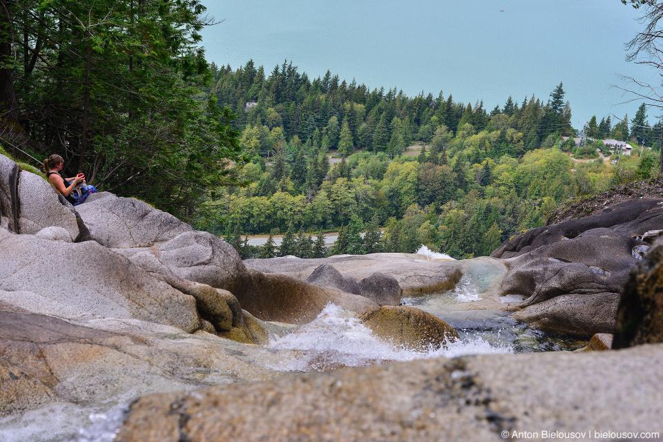 Shannon Falls Cascade (Squamish, BC)
