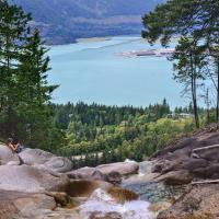 Настоящая тропа на водопад Шеннон