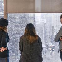 Канада, шманада… когда за окном начинается снегопад, работа в офисе останавливается и здесь.