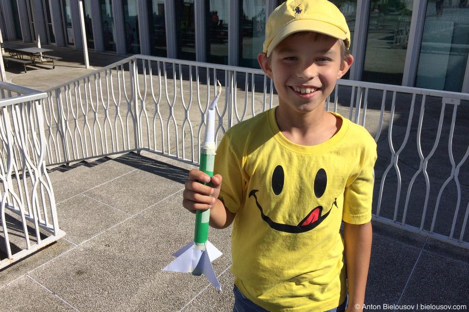 Seattle City Pass: Pacific Science Center Rocket Building