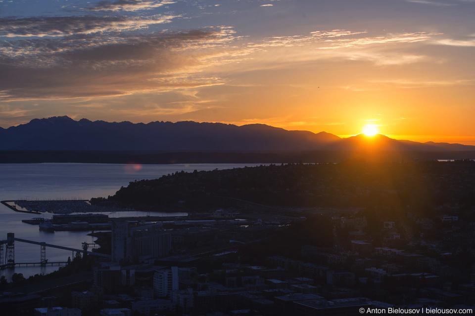 Seattle City Pass: Space Needle Sunset