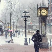 О снегопаде знали заранее и город говорил что он готов.