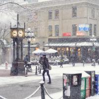 О снегопаде знали заранее — почти за неделю — и город говорил что он готов.