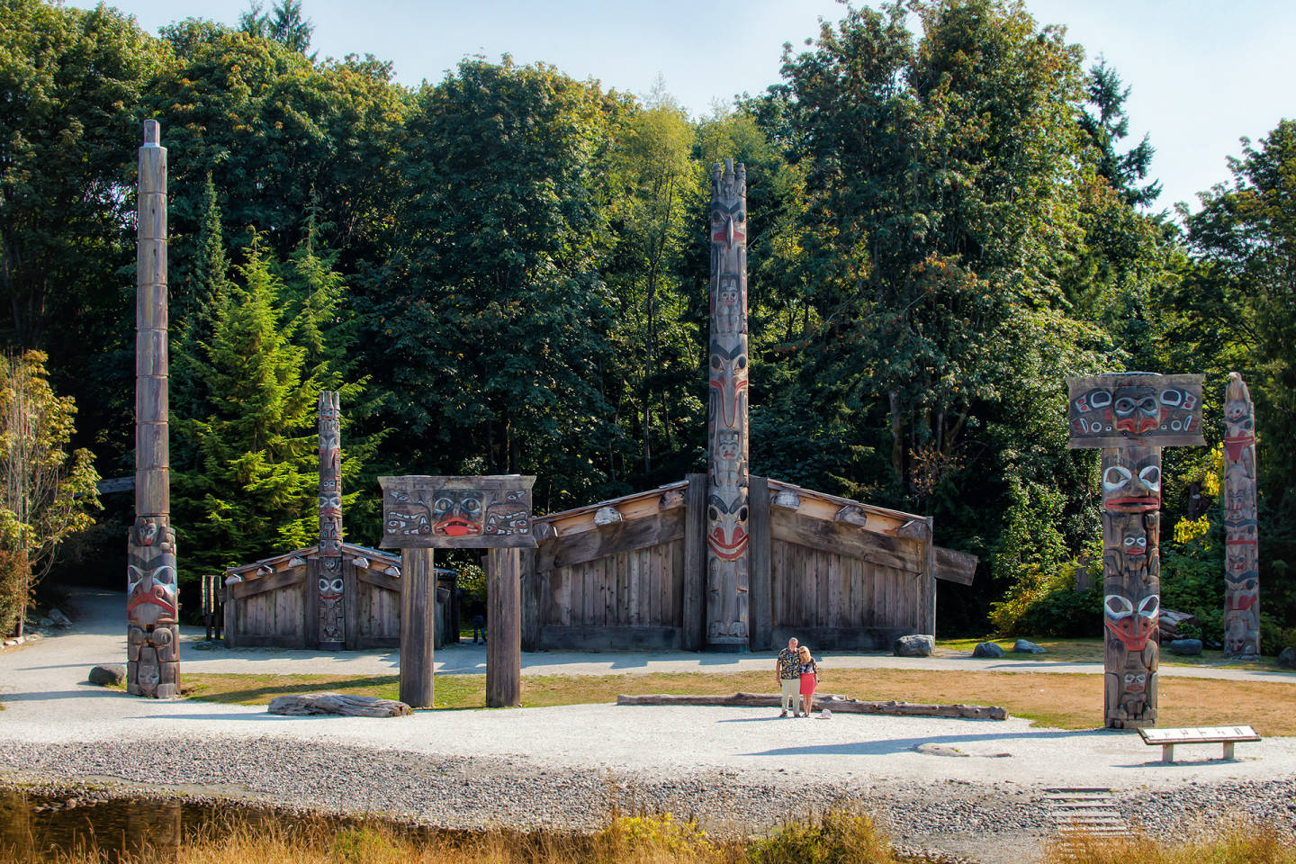 Vancouver UBC First Nations Village