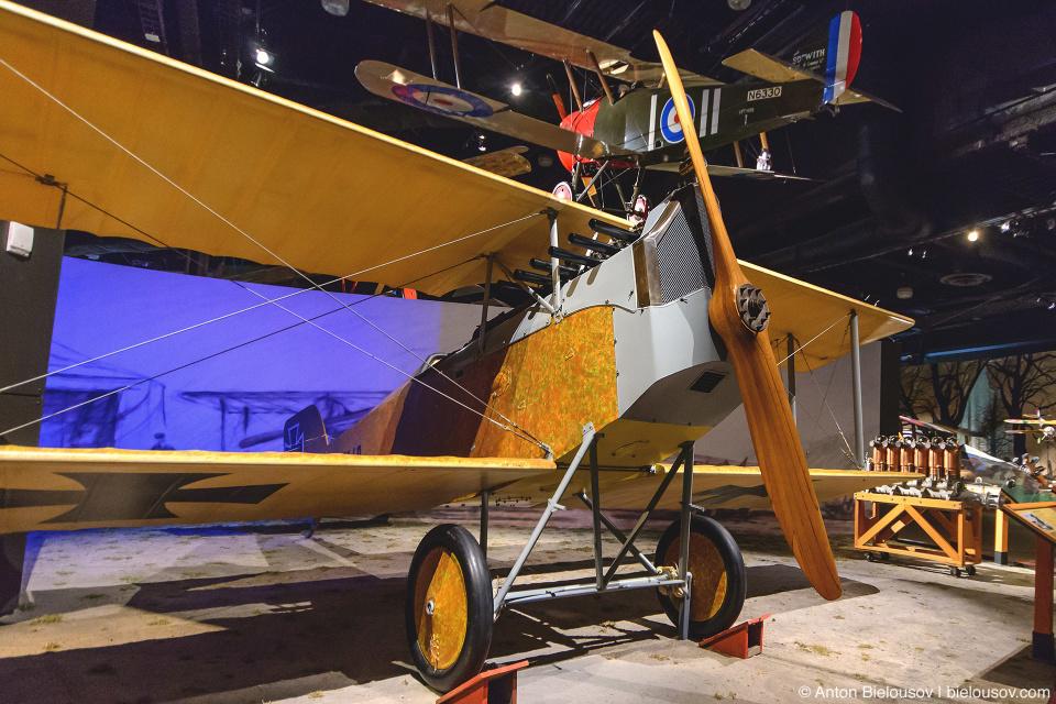 Seattle Museum of Flight: 1918 Aviatik D.I.