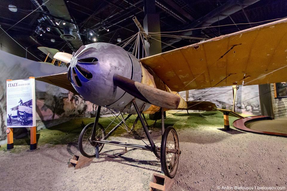 Seattle Museum of Flight: 1914 Caproni Ca.20