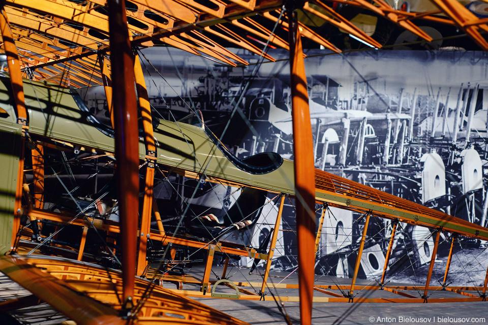 """Seattle Museum of Flight: 1915 Curtiss JN-4D """"Jenny"""""""