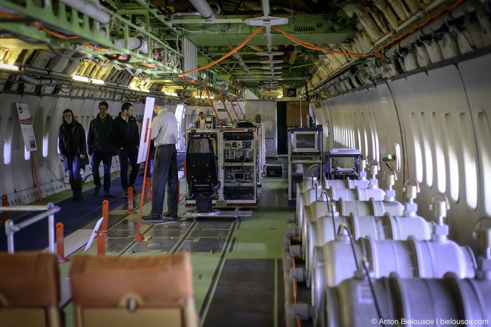 Seattle Museum of Flight: Boeing 747-121