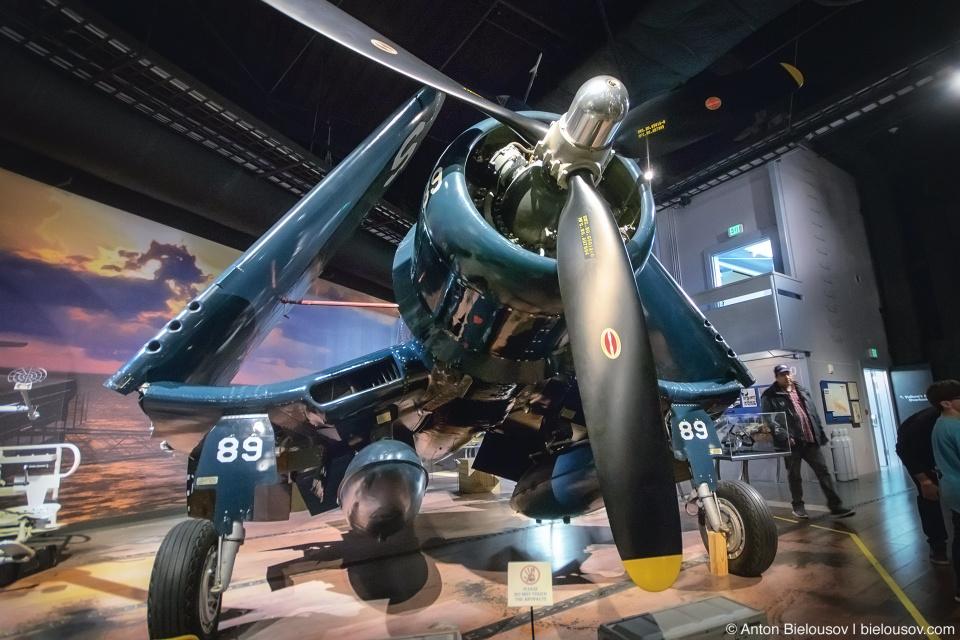 Seattle Museum of Flight: 1945 Goodyear Aircraft Corporation FG-1D Corsair
