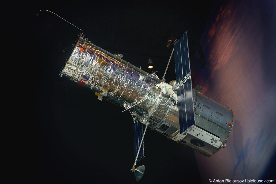Seattle Museum of Flight: Hubble 1:2 Replica
