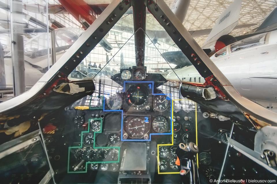 "Seattle Museum of Flight: 1964 Lockheed SR-71A ""Blackbird"" Cockpit"