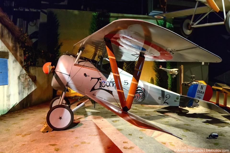 Seattle Museum of Flight: 1917 Nieuport 24bis