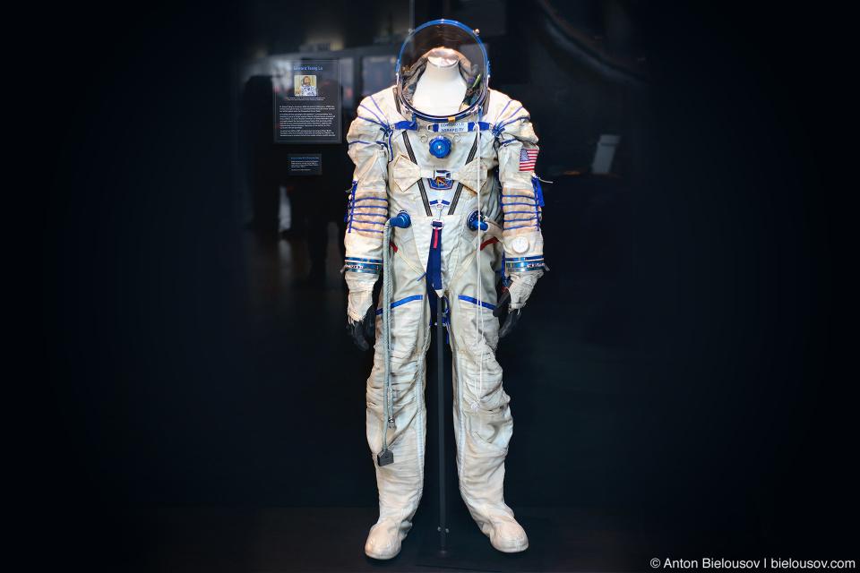 Скафандр астронавта Эдварда Лу (Edward Lu)