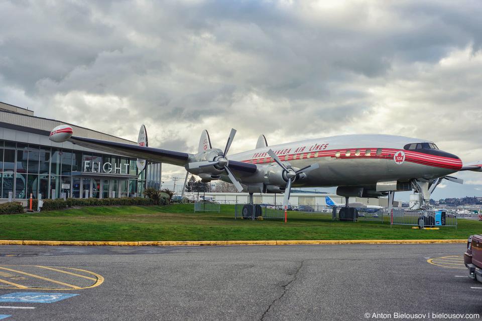 "Seattle Museum of Flight: Lockheed 1049G ""Super G"""
