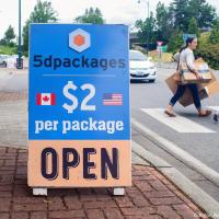В общем, в 5dpackages одна посылка обойдется вам в US$2.00